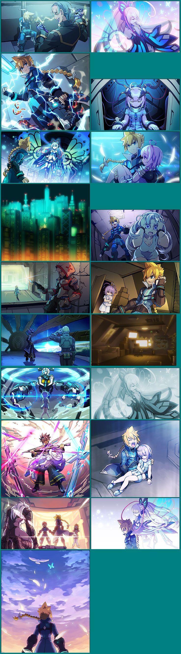 Azure Striker Gunvolt - Story Images
