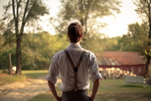 Would you stop talking for one second? He grouched as he pulled his suspenders over a clean shirt, you ask so many questions, I don't know how you expect me to answer them all. Her eyes opened wide as he rounded the corner. Wow. she said. You clean up well.