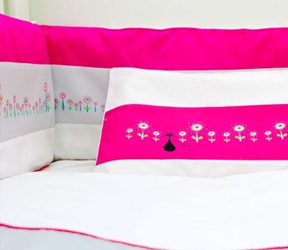 The Cats Whiskers #cats#whiskers#pink#nursery#linen#cotlinen#baby#toddler#girl#decor#design3babeliciousdecor