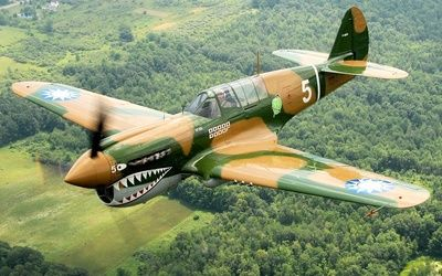 Curtiss P-40 Warhawk wallpaper