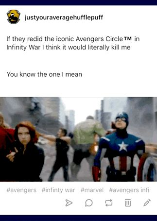Marvel, Infinity War, Avengers Circle