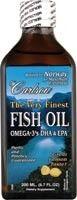 Carlson Finest Fish Oil Liquid Omega 3 EPA DHA