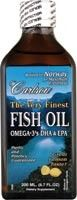 Carlson Finest Fish Oil Liquid Omega 3 EPA DHA