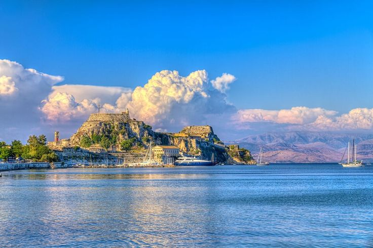 The town of Corfu - a perfect combination of the medieval atmosphere of listed buildings and modern amenities. https://greece.terrabook.com/corfu/page/corfu #Greece #Corfu #terrabook #GreekIslands #TravelTips #Travel #GreeceTravel #GreekPhotos #Traveling #Travelling #Holiday #Summer