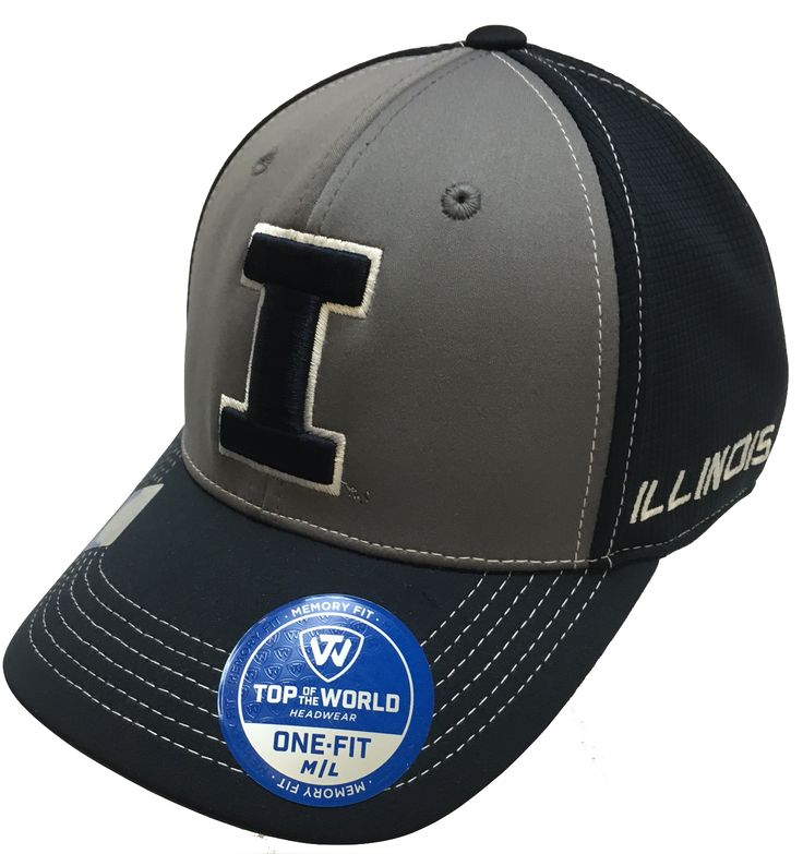 Top Of The World Illinois Fighting Illini Dynamic Flex Fit Hat