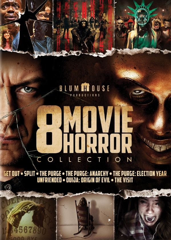 8 Movie Horror Collection Walmart Exclusive Dvd Walmart Com Dvd Horror O Movie