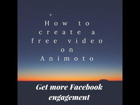 How to create Animoto Video