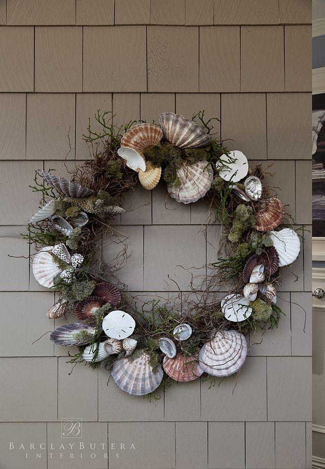 Shell Wreath Summer Shell Wreath Ideas Diy Shell Wreath Summer