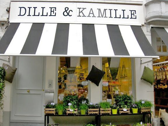 Dille & Kamille~shops in both Belgium and the Netherlands-unique kitchen stuff