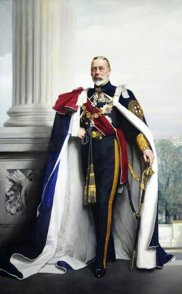 King George V of United Kingdom.A♥W