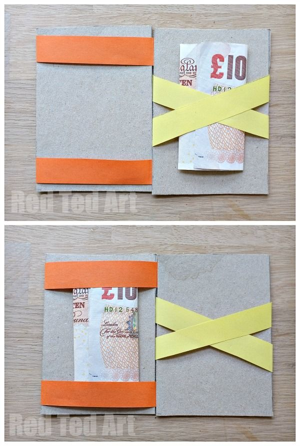 How to Make a Magic Wallet- mystify the kids and adults with this fun project