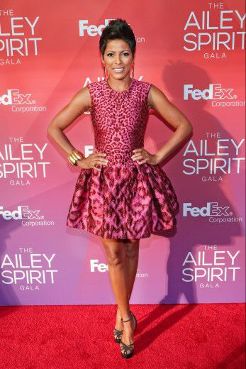 Today show anchor Tamron Hall arrives for the 2015 Ailey Spirit Gala held at the David H. Koch Theater, Lincoln Center in New York City