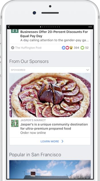 Ad Placement  Ads can be automatically placed within your Instant Articles in order to simplify the process of inserting blocks of ad code throughout the content. Automatic ad placement eliminates the need to manually place ad tags within articles and lets you focus on the content.  Automatic ad placement is specified within theArticleelement and provides the flexibility to change your ad density as well as manually determine the placement of ads within your specific articles when necessary…