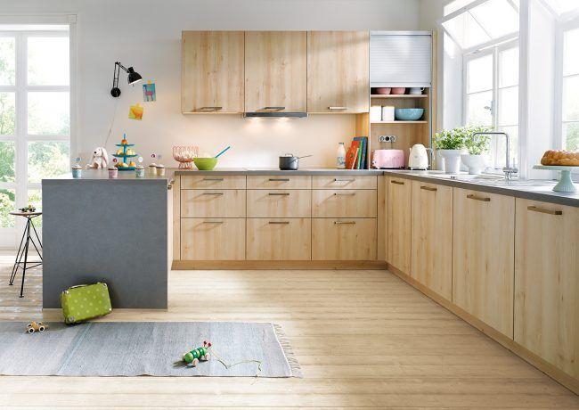 19 best Woodgrain Kitchen Ideas images on Pinterest Kitchen - schüller küchen fronten