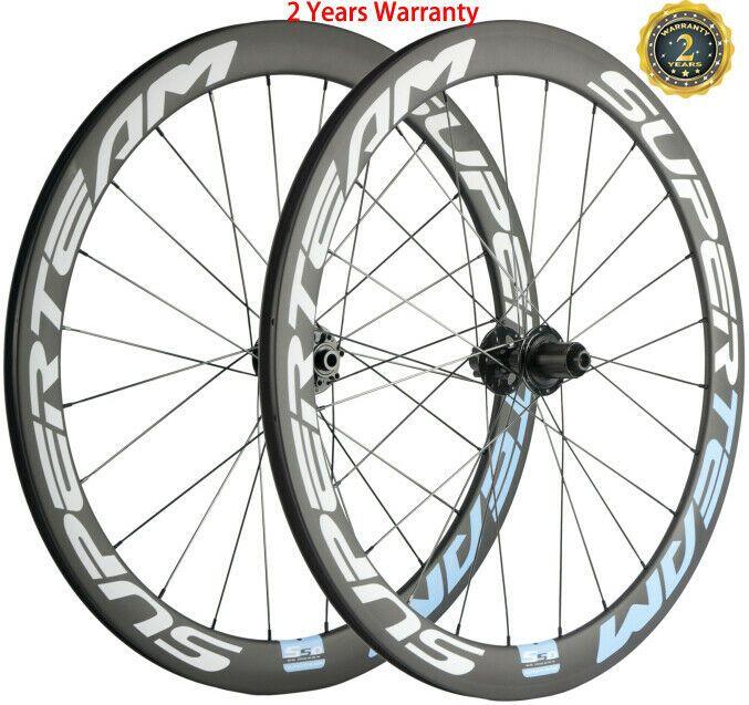 Ebay Sponsored Carbon Road Bike Disc Brake Wheels 50mm 23mm Disc