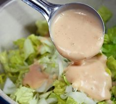 Amerkanisches Salatdressing