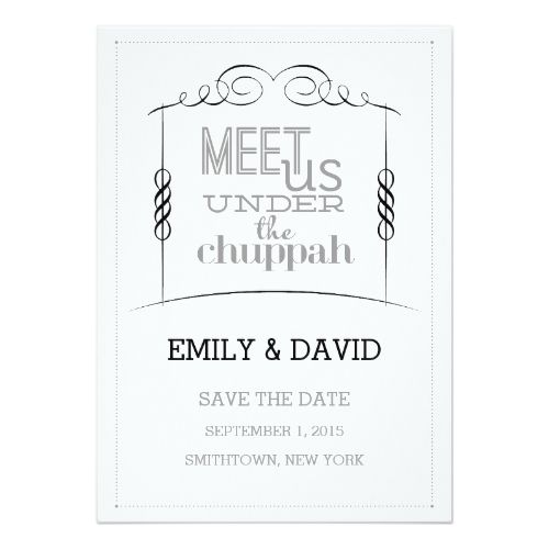 17 best ideas about jewish wedding invitations on pinterest, Wedding invitations