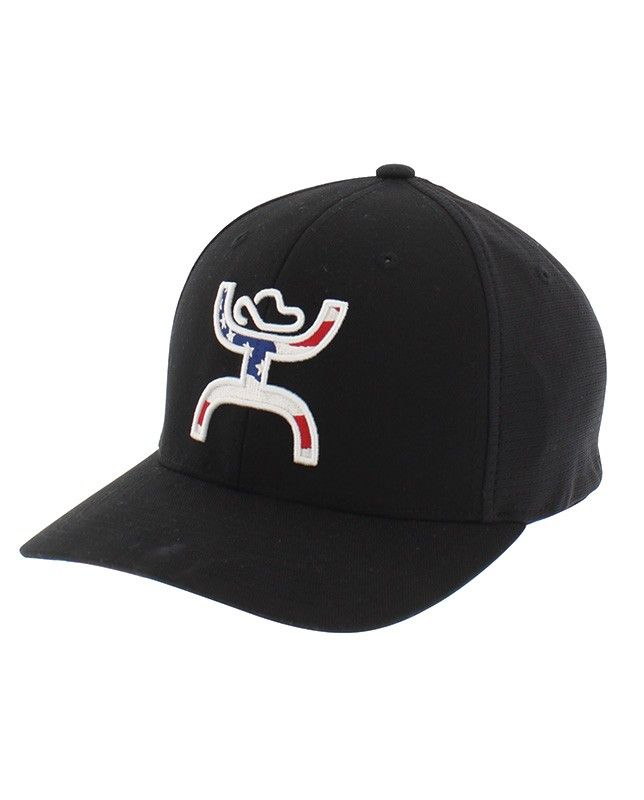 promo code ddf36 be2ad ... wholesale hooey black americana cap this cap features a red white and  blue hands up.