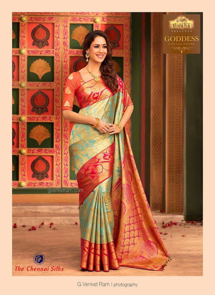 G Venket Ram | Photography | Advertising | Chennai Silks | Silk Saree |  Bridal |