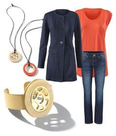 """""""Ledo jacket casual look"""" by linda-bowden-almeida on Polyvore featuring CAbi, women's clothing, women's fashion, women, female, woman, misses and juniors"""