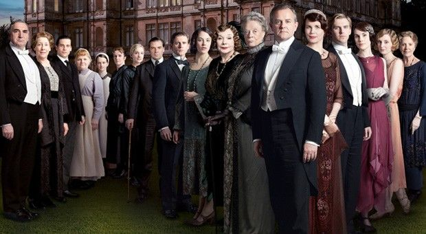 Downton Abbey Season 5 Cast   Amazon scores Downton Abbey as a subscription streaming exclusive from ...