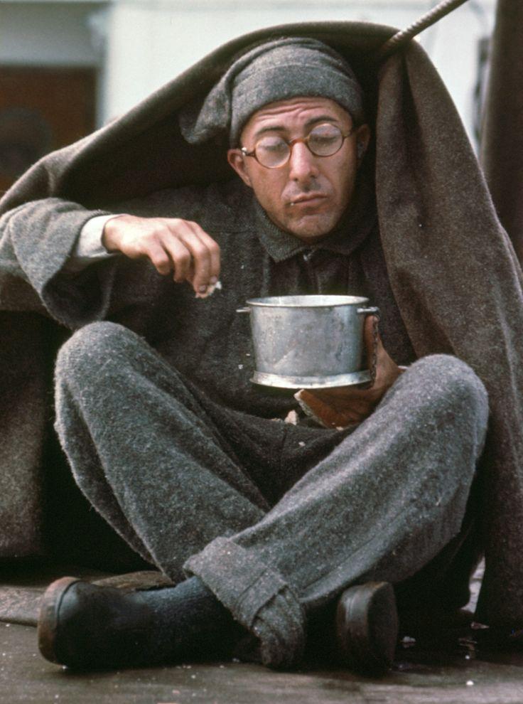 """Dustin Hoffman in """"Papillon"""" (1973)"""
