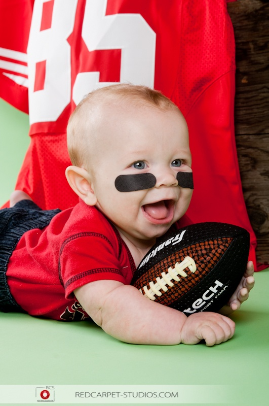 49er baby photo super bowl 2013