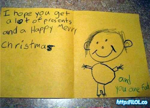 :)Christmas Cards, Children, Funny Stuff, Honey Badger, Kids Note, So Funny, Funny Kids, Xmas Cards, Merry Christmas