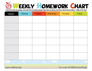 1000 Ideas About Homework Chart On Pinterest Station