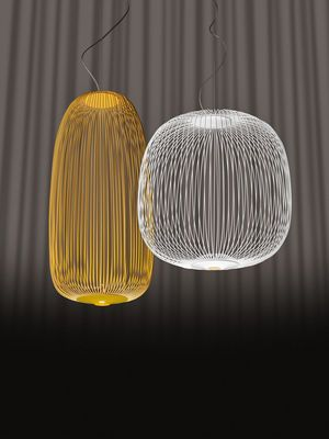 Suspension Spokes 2 / LED - Ø 52 x H 52,5 cm Blanc - Foscarini