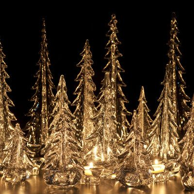 Simon Pearce glass trees | GOT IT | Pinterest