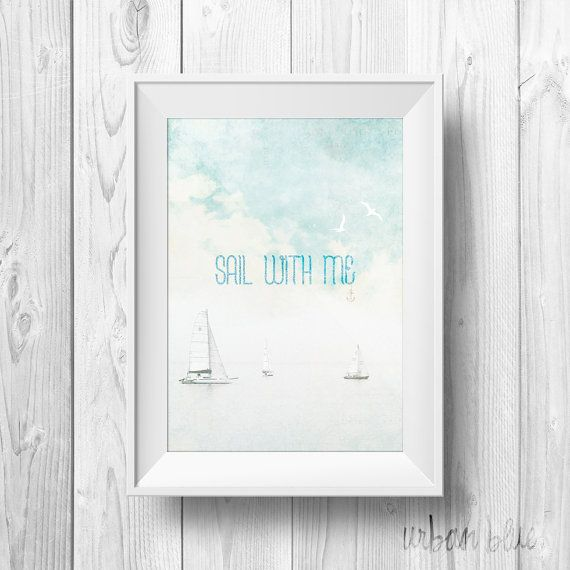 INSTANT DOWNLOAD Inspirational Quote Wall art Decor by urbanblue, €3.50