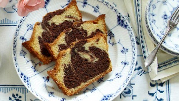 Marmorkage - opskrift lækker skærekage