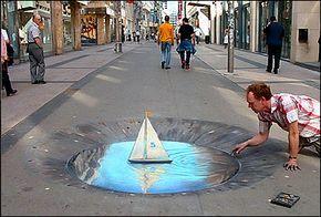 3D Street Art Illusionen