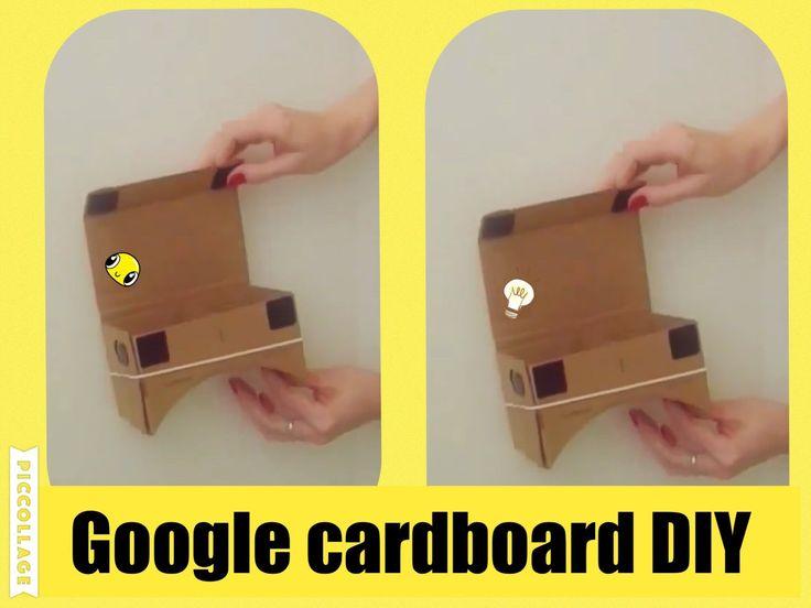 Как собрать google cardboard.  3D очки. DIY.  виртуальная реальность...