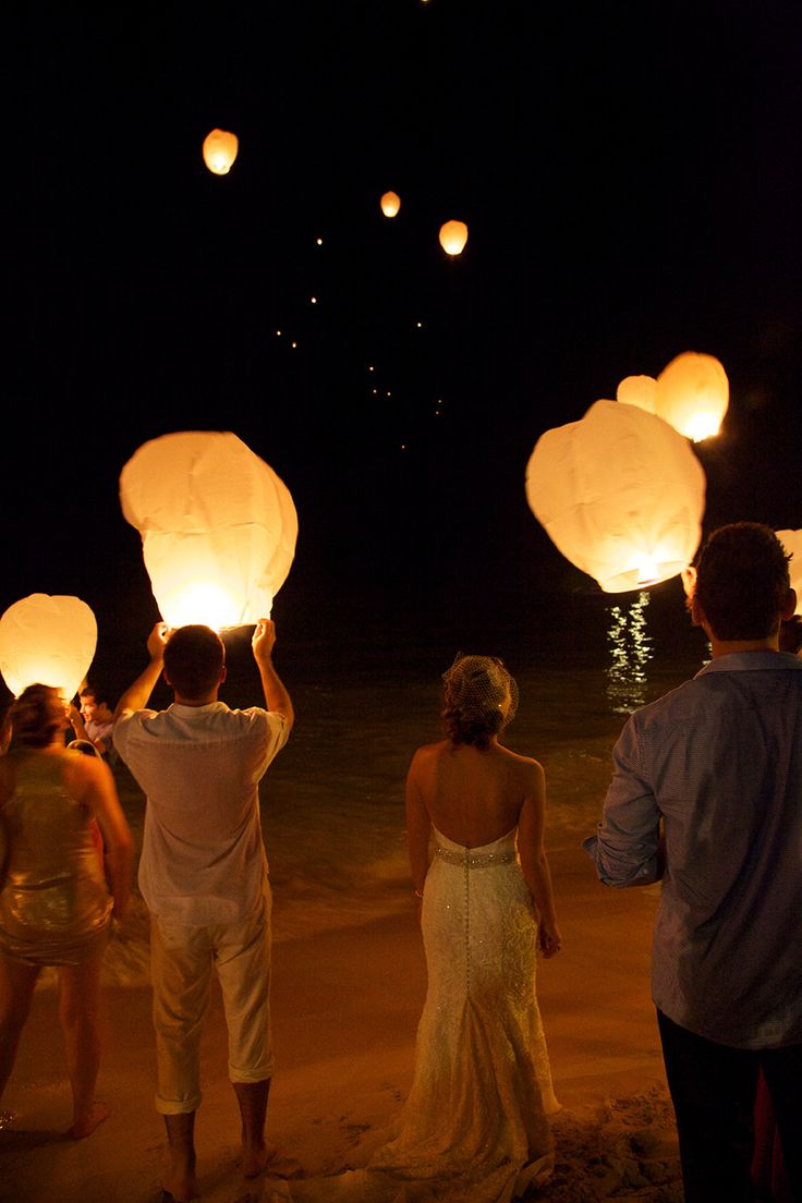 dominican republic wedding at dreams la romana resort spa wish lanternspaper lanternsfloating