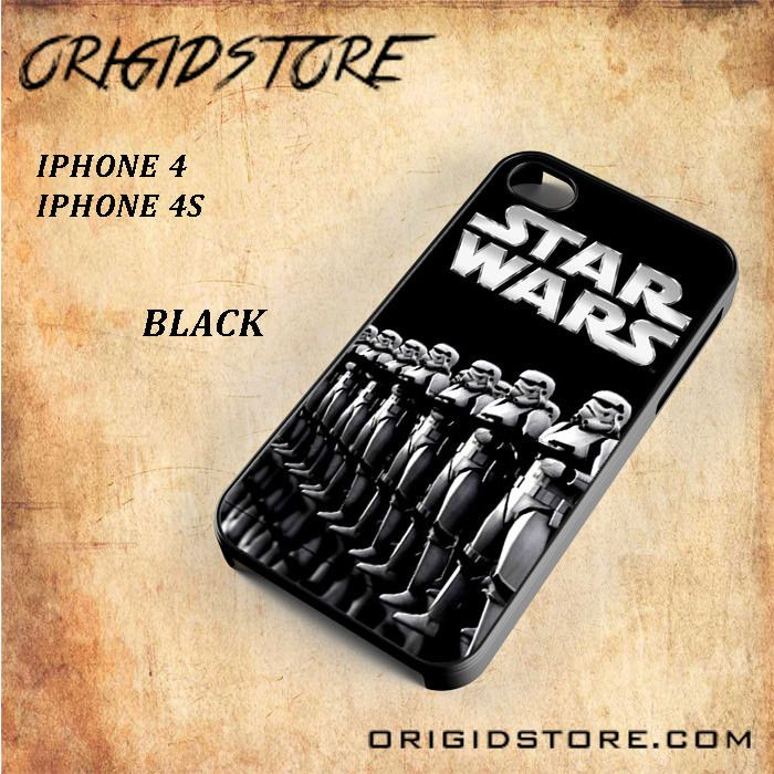 Star Wars Stormtroopers For Iphone 4/4S Snap On and 3D Case