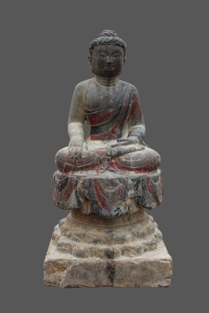 pin von asienlifestyle auf buddha figur buddha stein statuen f r den garten buddha figur. Black Bedroom Furniture Sets. Home Design Ideas
