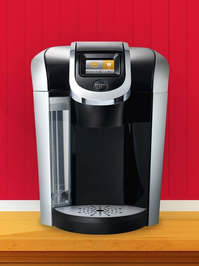 Iced Coffee Maker Keurig : With the Keurig 2.0 K450 Brewing System, you can brew your favorite coffee, tea, hot cocoa, or ...