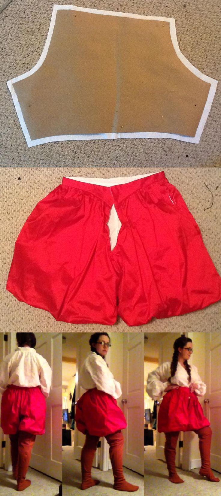 Italian Ren poofy pants
