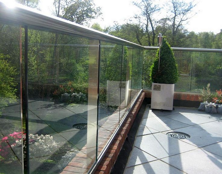 Glass Balconies In London Contemporary Rooftop Decks
