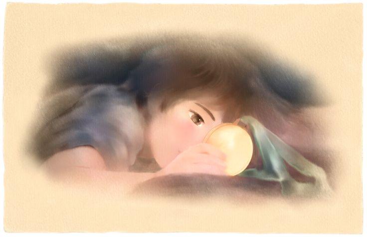 """""""La vittoria di Tom"""". Illustrazione per il romanzo per ragazzi """"Vivere a Venezia"""", di Laura M. Cecilia Ferro."""