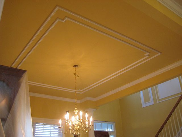 moldings on ceilings by crown molding via flickr