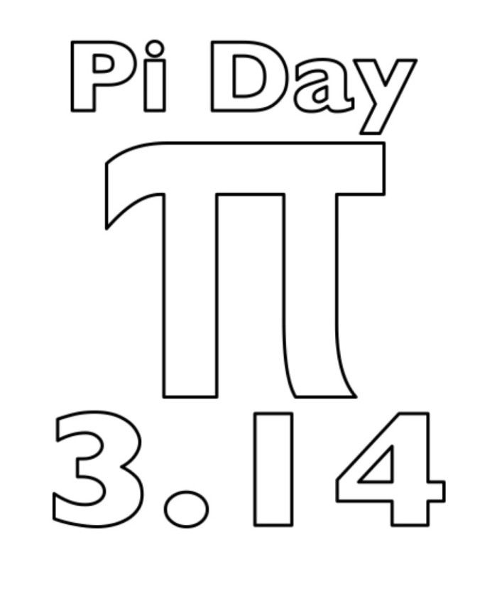 Pi Day Coloring Sheets