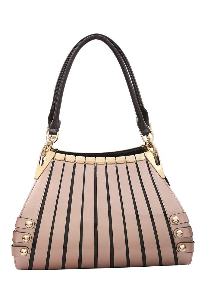 Serenade Leather Handbag Medium Monica Champagne RRP $229 www.sweetheartstreasures.com.au