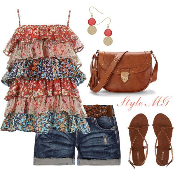 Boho floral summer