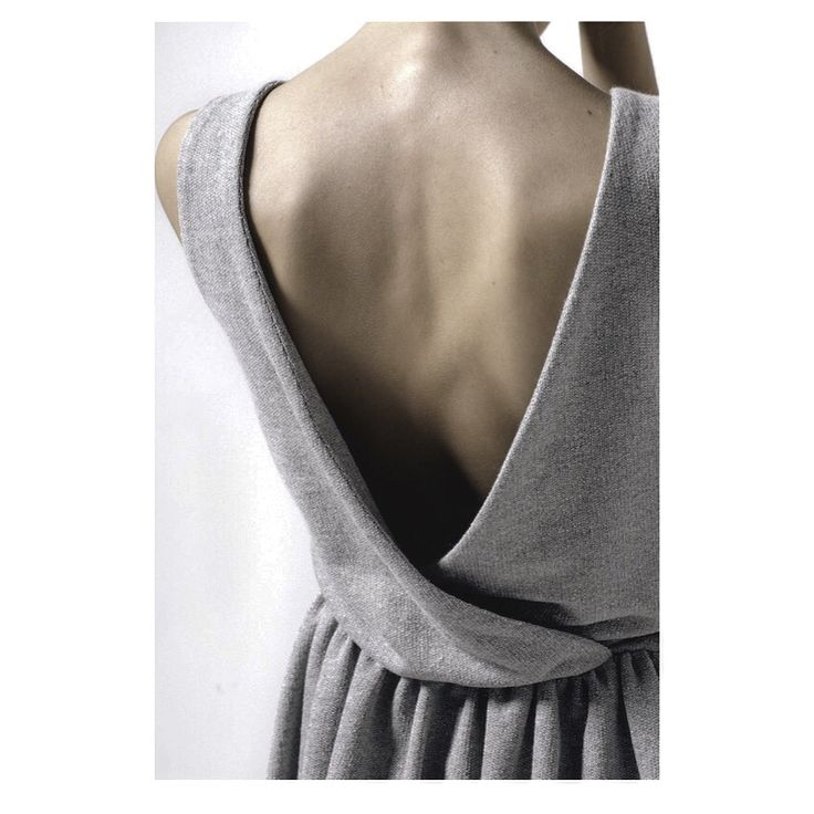 dungaree dress / backless