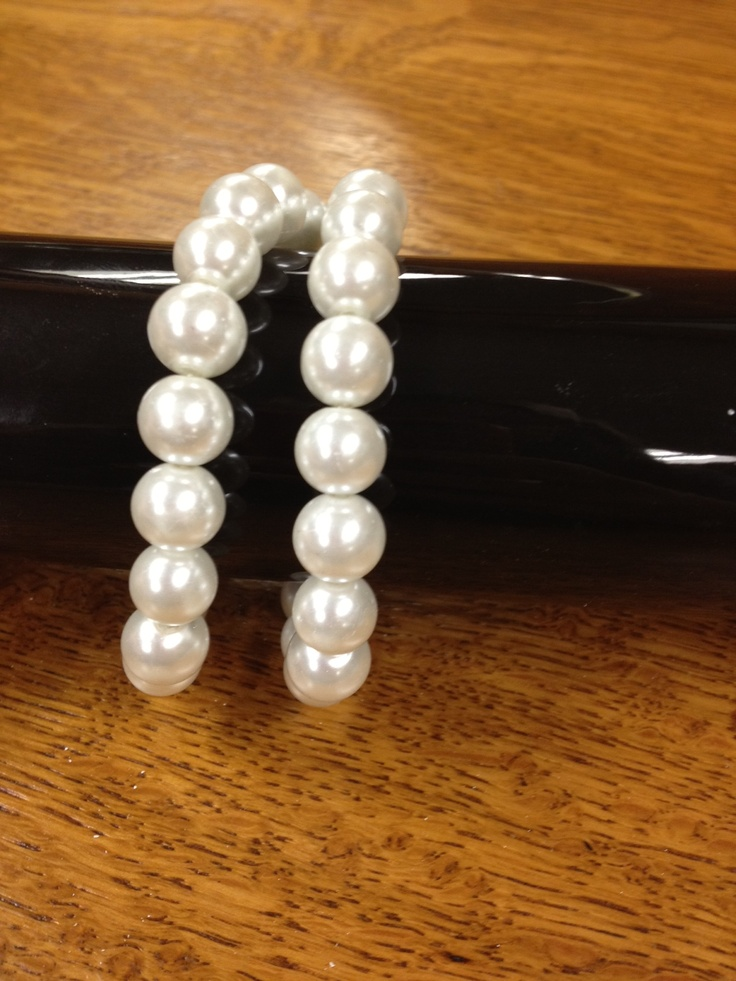 choose your own bracelet for your corsage..here we have pearls