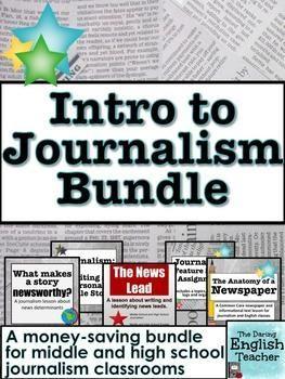 Journalism Questions - All Grades