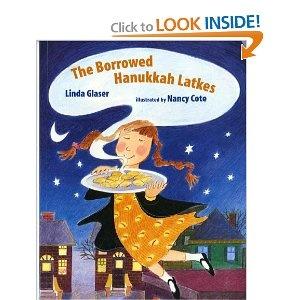 $ Book: The Borrowed Hanukkah Latkes by Linda Glaser